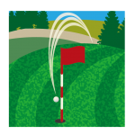 ドローンでゴルフ場コース紹介